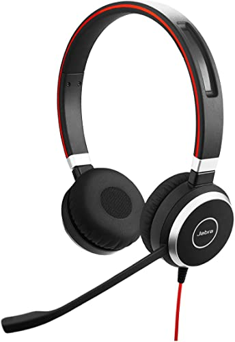 high quality Jabra Evolve 40 Professional Wired Headset, Stereo, UC-Optimized – Telephone Headset for online Greater Productivity, Superior outlet sale Sound for Calls and Music, 3.5mm Jack/USB Connection, All-Day Comfort Design online