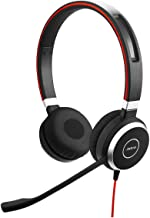 Jabra Evolve 40 UC Professional Wired Headset, Stereo – Telephone Headset for Greater..
