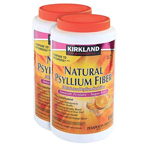 Kirkland Signature Psyllium Fiber Sugar Free 2 ct 180 ct