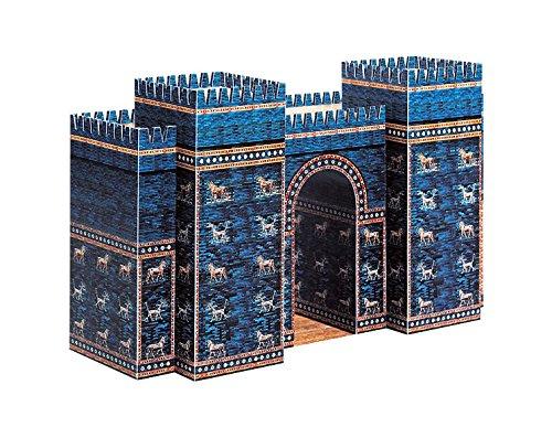 PaperLandmarks Puerta de Ishtar, Kit De Construcción Modelo de Papel