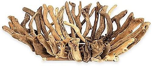 22-Inch x 16-Inch Driftwood Bowl
