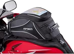 Cortech Super 2.0 Stap 12-Liter Motorcycle Tank Bag - Black/One Size