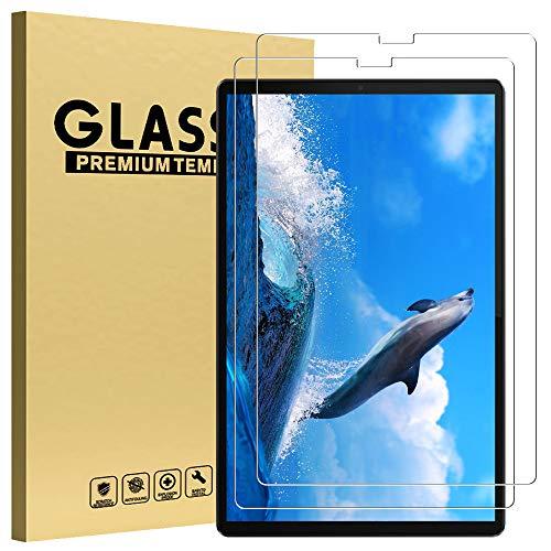 GOZOPO HD Protector de pantalla transparente para Lenovo Tab M10 Plus, [antiarañazos] de dureza 9H para Lenovo M10 FHD Plus TB-X606F (26,2 cm)