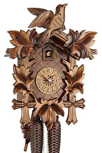 Originele koekoekoekoekoekoekklok uit het Zwarte Wouden van echt hout, mechanische 8-dagen aandrijving en VDS-certificaat - aanbieding van Horlogepark Eble - Eble - 38-01-12-80