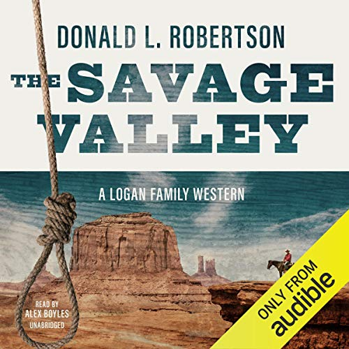 The Savage Valley audiobook cover art