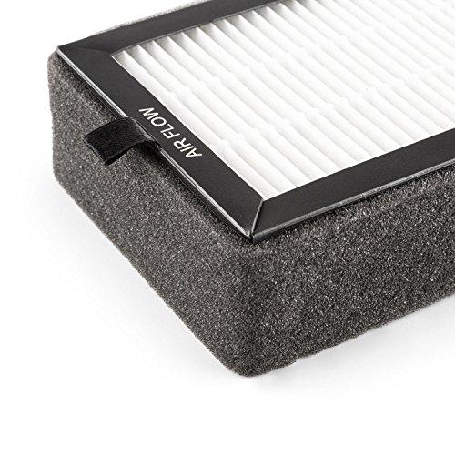 Klarstein Tramontana HEPA-Ersatzfilter Zubehör für Luftreiniger 10×21 cm - 2