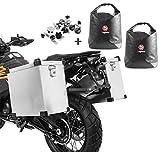 Maletas Laterales Aluminio Moto Namib 35-40l + Bolsas Interiores + Kit Montaje