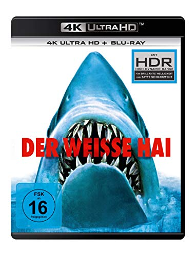 Der weiße Hai (4K Ultra HD) (+ Blu-ray 2D)