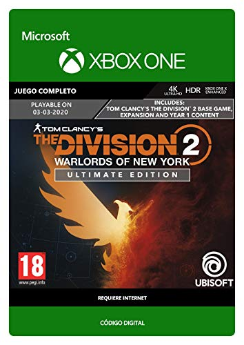 Tom Clancy's The Division 2: Warlords of New York Ultimate Edition  Xbox...