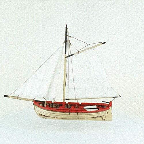 Modelo de Barco Decoraciones Modelo de velero Modelo de velero de Madera Modelo Vintage Hecho a Mano Maquetas de Hobby Maqueta de Barco a Escala Mini Rompecabezas de Madera de velero