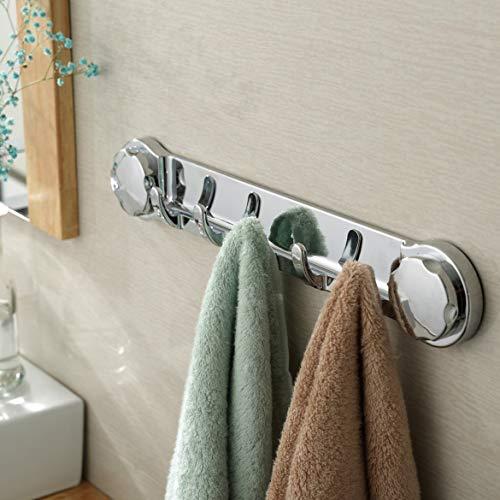 Banbie Praktisches Design Starker Saugnapf Sauger Wandhaken Multifunktionale Küche Bad Handtuchhalter Kleiderbügelhaken