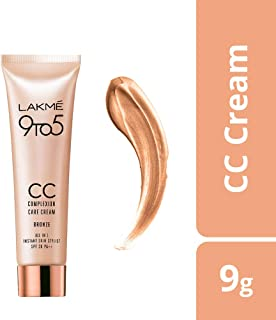 Lakme Complexion Care Face Cream, Bronze, 9g
