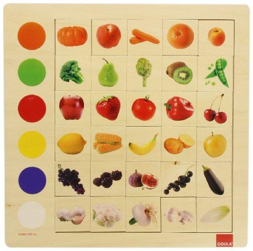 Goula   Observación colores, juego educativo de 30 piezas ( 55134) , color/modelo surtido
