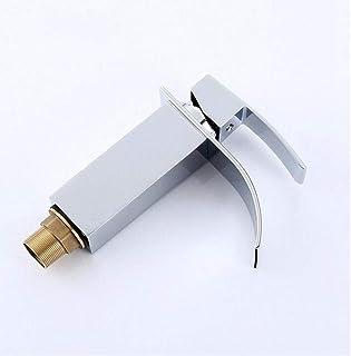 Grifo Mezclador De Cascada Mezclador Faucet Baño Cascada Faucet Basin Faucet Orificio De Latón Faucet Vanity Vessel