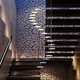 ZHXZHXMY Boutique lighting - Moderna de la estrella de la escalera de caracol de la lámpara, al ras de acrílico del montaje LED de iluminación del accesorio ligero de la lámpara pendiente Duplex Villa