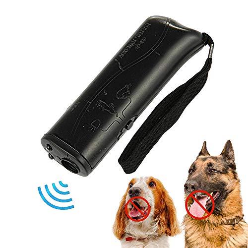 Zibnwee Ultraschall Hunde, 3 in 1 Anti-barke Handheld-Hundetrainingsgert, Hunde Repeller, LED-Au enrinde-Controller, Anti-Bellen-Gerät für kleine bis große Hunde