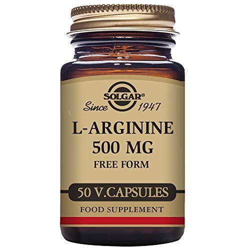 Solgar L-Arginina Cápsulas vegetales de 500 mg - Envase de 50