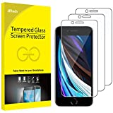 JEDirect iPhone SE 2020 用 強化ガラス 液晶保護フィルム 4.7インチ 3枚セット