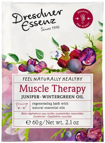 Dresdner Essenz Bath Salts with Natural Essential Oils (Muscle Therapy) by Dresdner Essenz