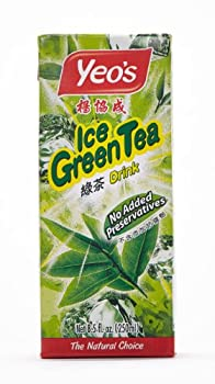 Yeo s Ice Green Tea Drink  Pack of 24