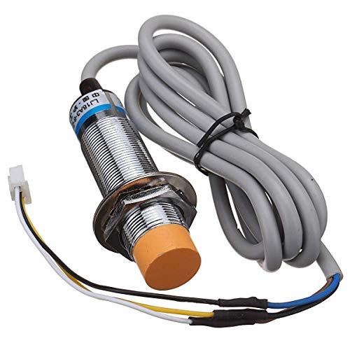 JRUIAN Accesorios de Impresora Longhair LJ18A3-8-Z/Bx Sensor inductivo de Nivel automático de 8 mm para Impresora 3D Anet A8 A2 A6