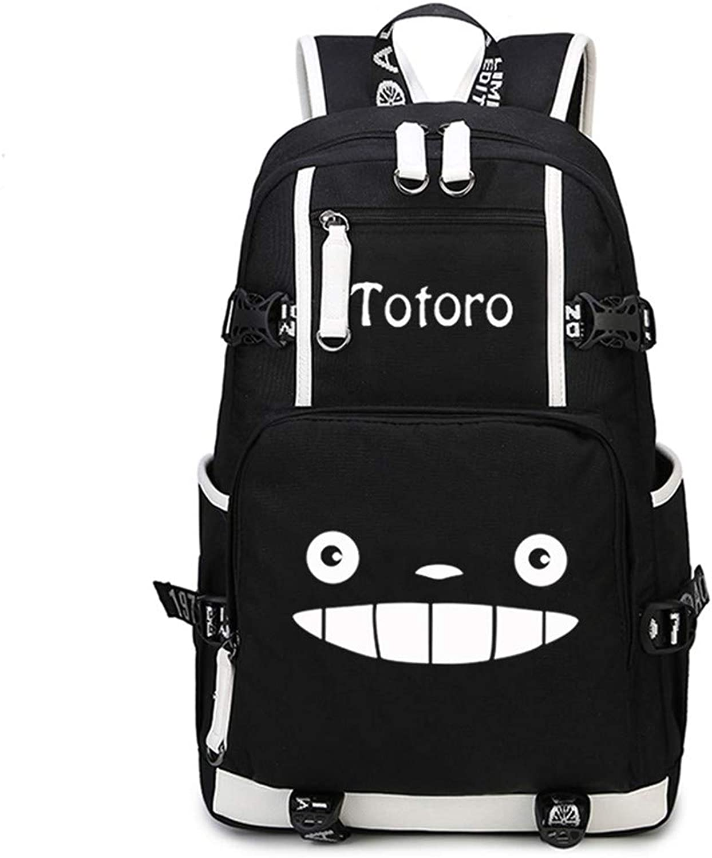 Japanisch Mein Nachbar TotGold Student Book Bag Cosplay Cartoon Rucksack Reise Camping Rucksack