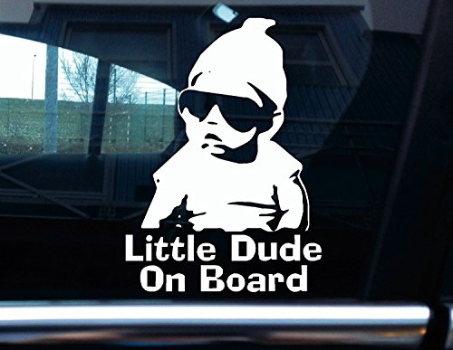 "Vinyl-Aufkleber ""Little Dude On Board"" – Carlos von ""The Hangover"""