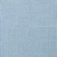 国産 制菌 抗ウイルス 花粉対策 デニム風 ダブルガーゼ 生地 レピュール 50cm単位販売 Repur 抗菌 防臭 抗カビ 消臭 日本製 ガーゼ生地 手芸 布 (ストライプ×サックス)