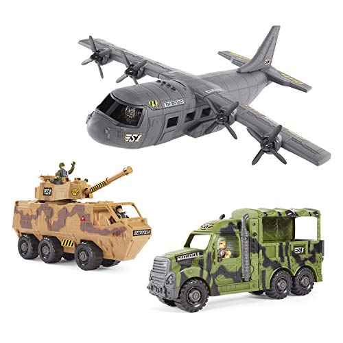 True Heroes Cargo Plane Bundle Set, Multi (AD20160)