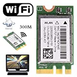 300M Wireless Bluetooth V4.0 NGFF WiFi WLAN Card for Dell DW1707 VRC88 Qualcomm Atheros QCNFA335 Nov11