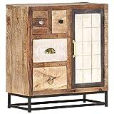 vidaXL Aparador Muebles de Cajones Mesilla Buffet Almacenaje para Salón Dormitorio Comedor Casa Hogar Oficina de Madera Maciza Reciclada