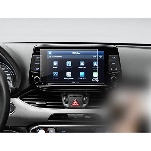 LFOTPP Hyundai i30 Kombi N 8 Pulgadas Navegación Protector de Pantalla - 9H Cristal Vidrio Templado GPS Navi película protegida Glass