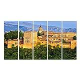 Cuadro en lienzo Palacio de la Alhambra Granada España cuadros decoracion Impresión salon