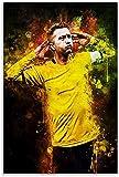 Leinwand Bilder Kunst Marco Reus - Amazon.fr für Living
