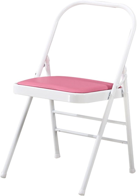 CQOZ Yoga Chair Auxiliary Chair Hard Yoga Hall Auxiliary Folding Chair Yoga aid Chair Stool Folding Chair (color    3)