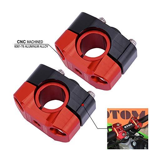 FastPro - Soporte Universal para Manillar de Motocicleta (22 mm y 28 mm)