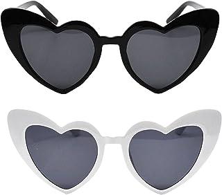 Snogisa Bachelorette Party Retro Heart Sunglasses ,Bachelorette Party Sunglasses Bridal Shower,Bridesmaid Sunglasses For W...