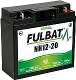Fulbat - Batterie per motocoltivatori/moto Gel NH1220/SLA12-20 12V 20Ah