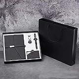 TCEPFS Fashion Bussiness Set Regalo Set Portachiavi Notebook Porta Biglietti da Visita Firma Penna...