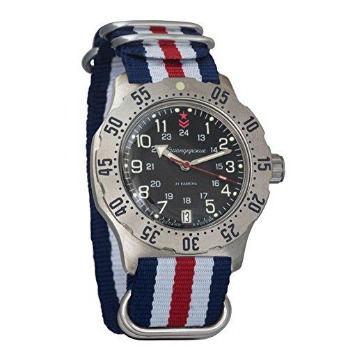 Vostok Komandirskie K-35 - Reloj de pulsera mecánico automático para hombre, talla 350751