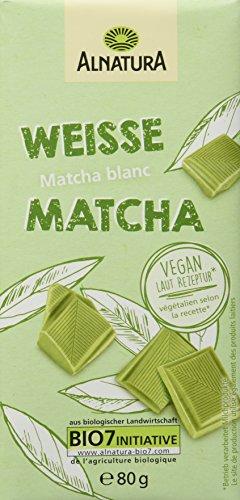Alnatura weiße vegane Schoko, 12er Pack (12 x 80 g)