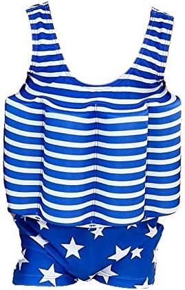 Kids Boy Girls Toddler Floatation Swimsuit with Adjustable Buoyancy Baby Summer Training Float product image