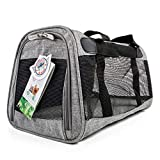 Sherpa PET CARRIER GRAY, us:one size