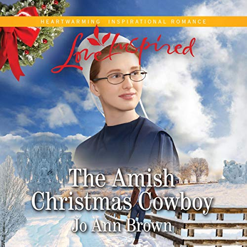 The Amish Christmas Cowboy audiobook cover art