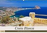 Costa Blanca - Die weiße Küste Spaniens (Wandkalender 2022 DIN A2 quer): Ein Bildkalender der bekannten Urlaubsregion Costa Blanca an der spanischen Mittelmeerküste (Monatskalender, 14 Seiten )