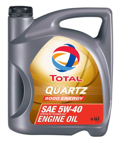 engine oils Total (184952-5QT Quartz 9000 Energy ACEA/API 5W-40 Engine Oil - 5 Quart