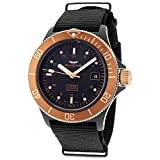 Glycine Combat Sub Golden Eye Automatic Black Dial Men's Watch GL0173