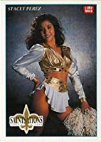 1992 Lime Rock Pro Cheerleaders Football #71 Stacey Perez New Orleans Saints