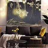 Paesaggio Naturale Arazzo Da Parete Stampa Squisita Arte Coperta Sfondo Pittura per Soggiorno Dormitorio Home Decor A1 95x73 cm