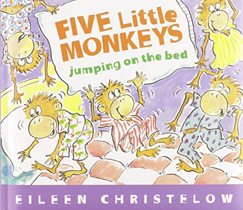 Product Image of the Five Little Monkeys Jumping on the Bed (Padded Board Book) (A Five Little...